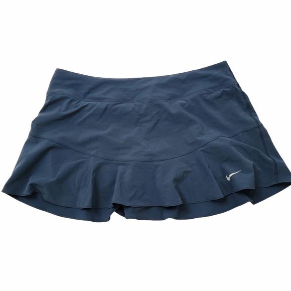 Nike Flouncy Tennis Skirt Navy Size Large